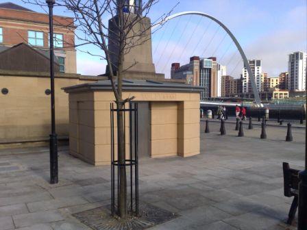 Newcastle public toilets