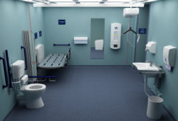 Changing Places Toilet interior
